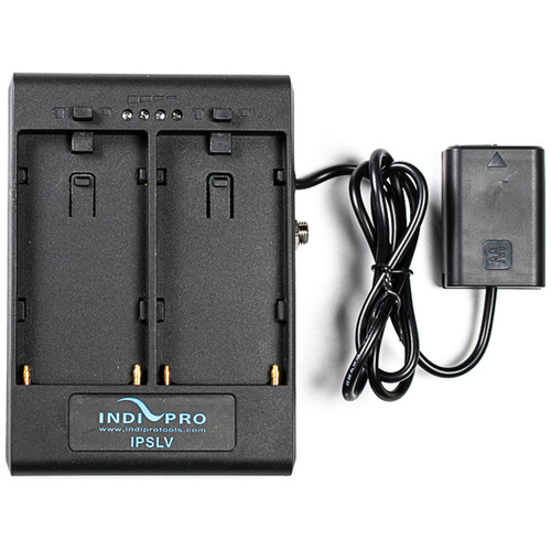 IndiPRO Tools Dual L-Series Power Adapter to Sony NP-FW50 Dummy Battery