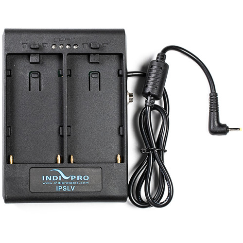 IndiPRO Tools Dual L-Series Power Adapter for Blackmagic Pocket Camera