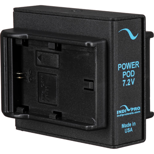 IndiPRO Tools Dual Canon LP-E6 Power System with Sony NP-FW50 Dummy Battery
