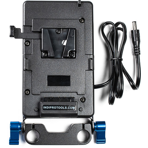 """IndiPRO Tools V-Mount Plate for Blackmagic Production Camera 4K (20"""" Cable)"""