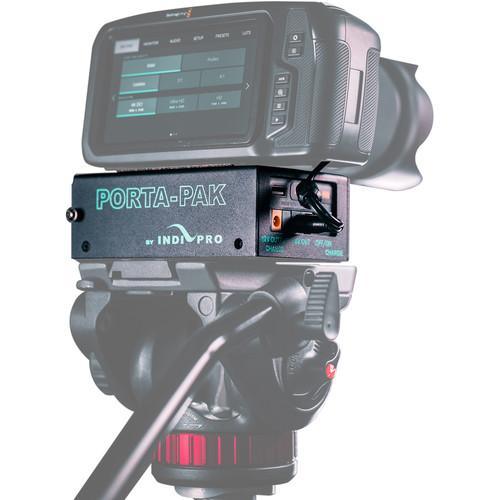 IndiPRO Tools PORTA-PAK Battery Kit for BMPCC 4K/6K Camera