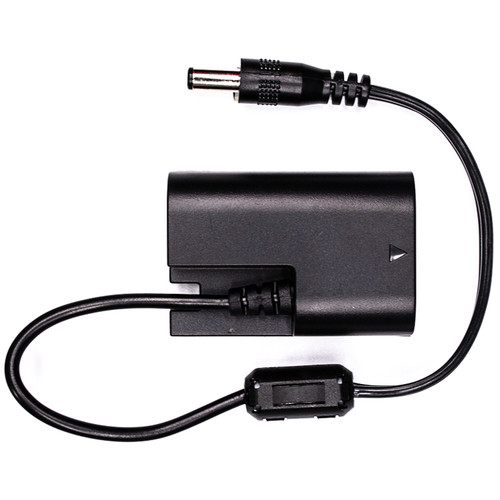"""IndiPRO Tools Porta-Pak 2.1mm to Canon LP-E6 Dummy Battery Cable (8"""")"""