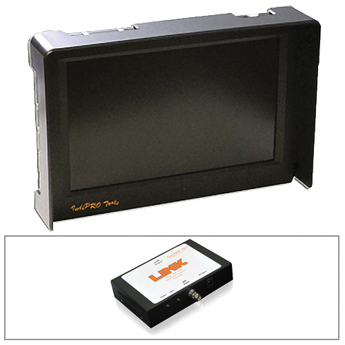 """IndiPRO Tools Pro5 LCD 5"""" Monitor, L-Series Plate, and SDI to HDMI 60Hz Converter Kit"""