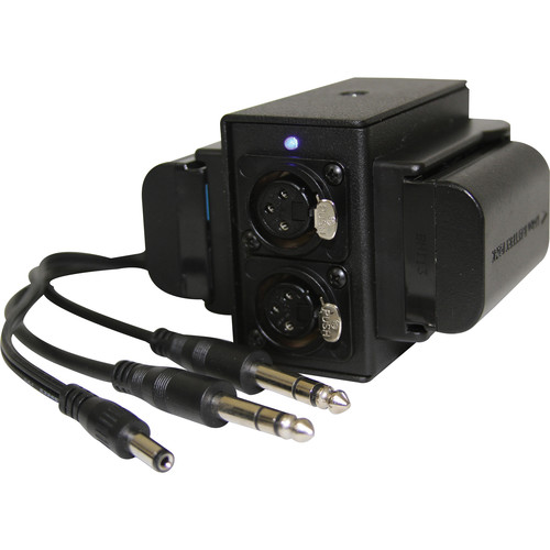IndiPRO Tools Pro Series Power Grid & XLR Audio Box for Blackmagic Cinema Camera
