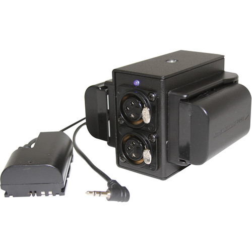 IndiPRO Tools Pro Series Power Grid & XLR Audio Box for Canon 5D/7D