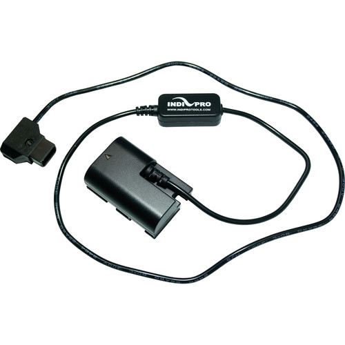 """IndiPRO Tools D-Tap to LP-E6 Dummy Battery Cable (30"""")"""
