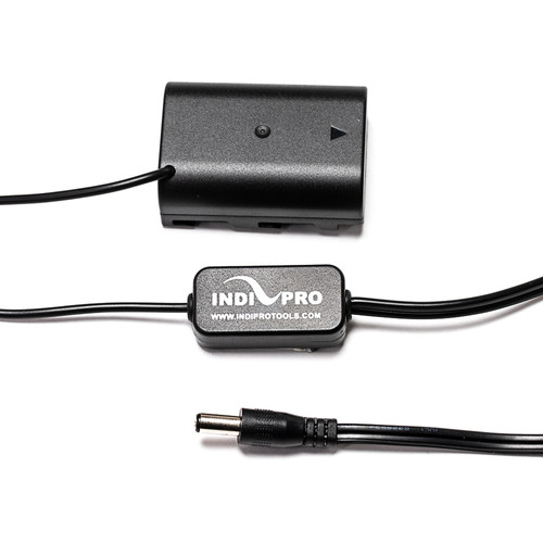 """IndiPRO Tools 2.5mm DC to DMW-BLF19 Dummy Battery Cable (Regulated, 24"""")"""