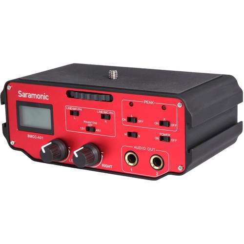 Saramonic Saramonic BMCC-A01 2-Channel XLR Audio Adapter for Blackmagic Cinema Camera
