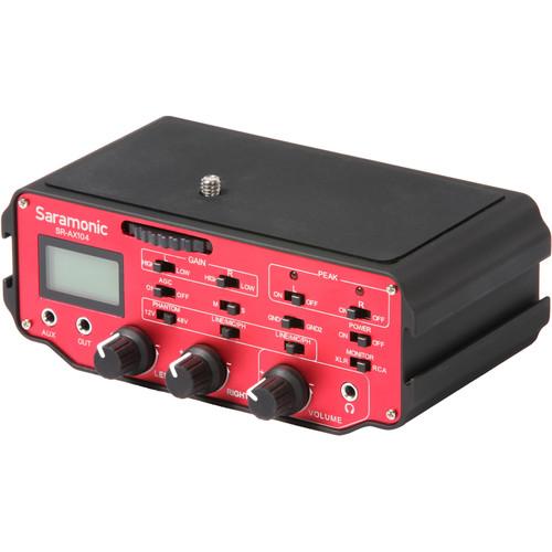Saramonic Saramonic SR-AX104 2-Channel XLR Audio Adapter for DSLRs