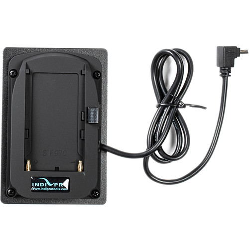 IndiPRO Tools L-Series Battery Adapter Plate to Mini-USB