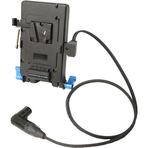 IndiPRO Tools V-Mount Plate with Stand Clamp for Litepanels