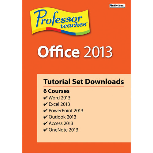 Individual Software Professor Teaches Office 2013 Tutorial Set (Download)