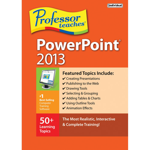 Individual Software Professor Teaches PowerPoint 2013