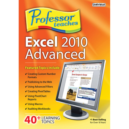 Individual Software Professor Teaches Excel 2010 Advanced (Download)