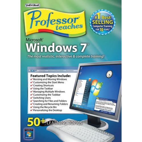 Individual Software: Individual Software Professor Teaches Windows 7 PTWINDOWS7