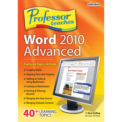 Individual Software Professor Teaches Word 2010 Advanced (Download)