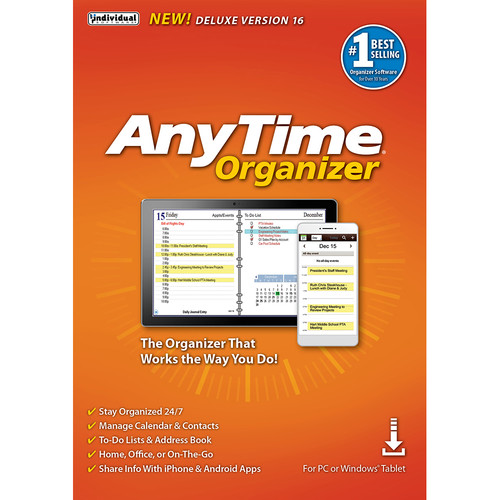 Individual Software Anytime Organizer 16 (Deluxe)