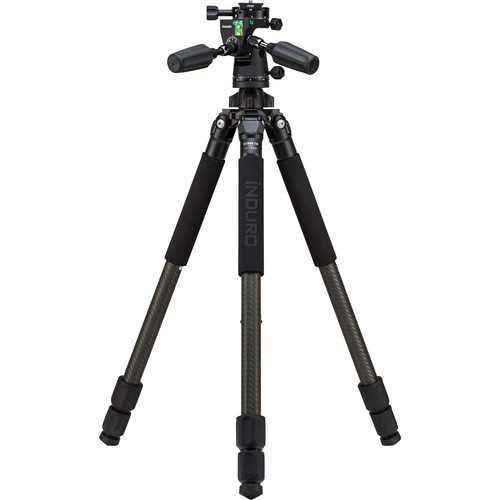 Induro CLT203 Classic Series 2 Stealth Carbon Fiber Tripod with PHQ1 5-Way Panhead