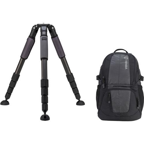 Induro GIT505XXL Grand Series 5 Stealth Carbon Fiber Tripod with Tenba Daypack Kit