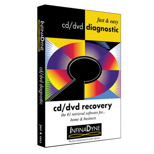 InfinaDyne CD/DVD Diagnostic 3.2 (Download Version)