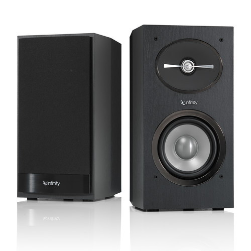 Infinity Reference R152 2-Way Bookshelf Speakers and R10 Subwoofer Kit (Black)