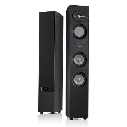 Infinity Reference R253 3-Way Floor-Standing Speakers and R10 Subwoofer Kit (Black)