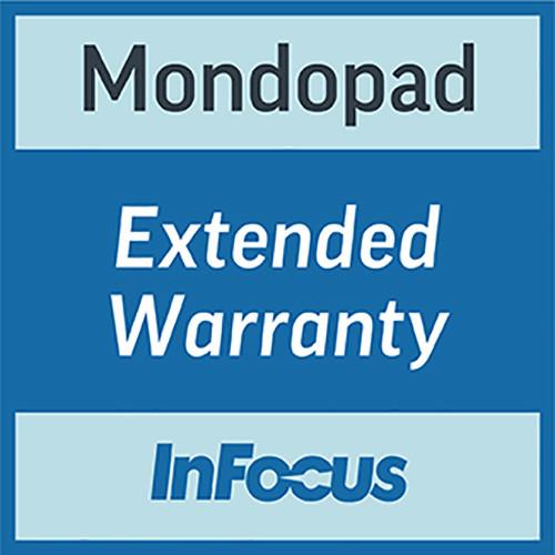 "InFocus 55"" Mondopad Extended Warranty for 1-Year"