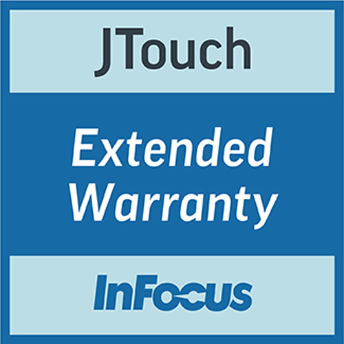 "InFocus 3-Year Extended Warranty for JTouch 75"" Display (Download)"