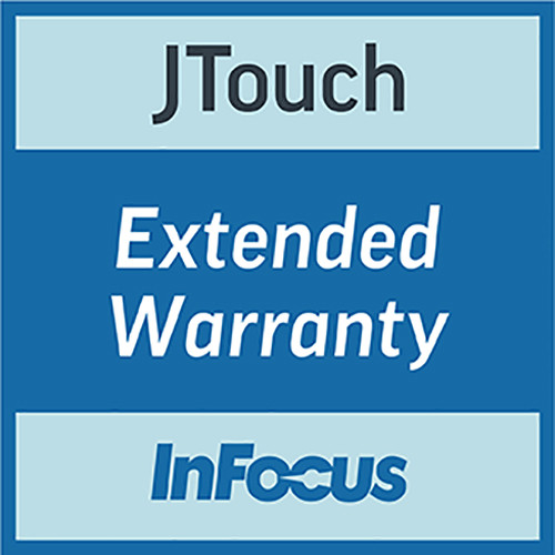 """InFocus 86"""" JTouch Extended Warranty for 1-Year"""