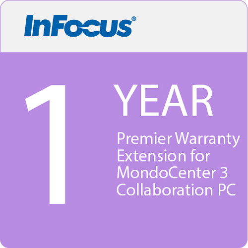 InFocus 1-Year Premier Warranty Extension for MondoCenter 3 Collaboration PC