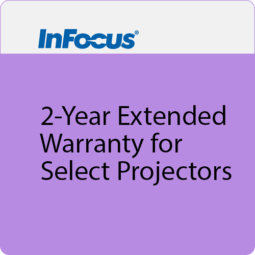 InFocus 2-Year Extended Warranty for Select Projectors