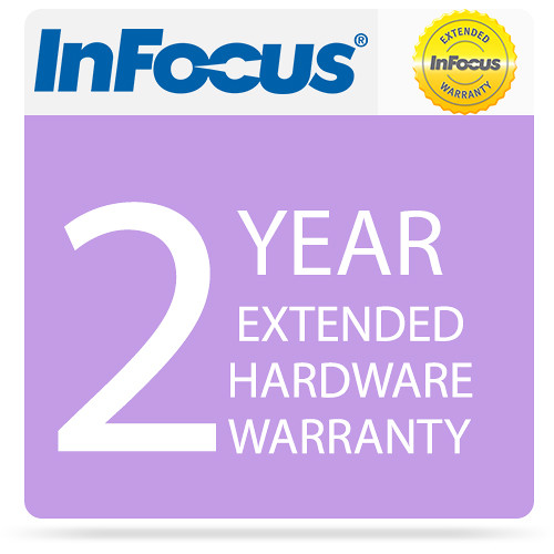 "InFocus 2-Year Extended Hardware Warranty For 40"" JTouch DigiEasel"