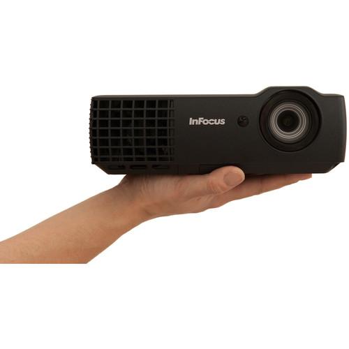 InFocus IN1116 2400-Lumen WXGA 3D DLP Projector