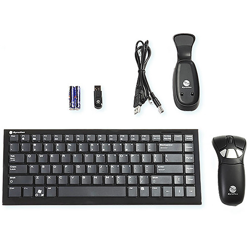 InFocus Gyroscopic Air Mouse & Wireless Keyboard