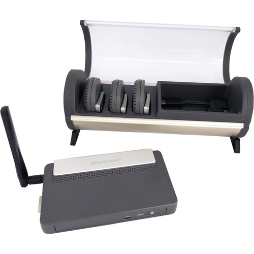 InFocus Simpleshare Interactive Presentation System with Charging Station