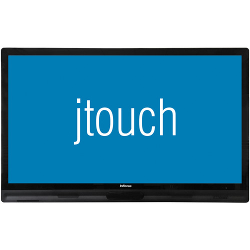 "InFocus JTouch 65"" LED-Backlit Capacitive Touch Display with Anti-Glare Coating (K-12 Only)"