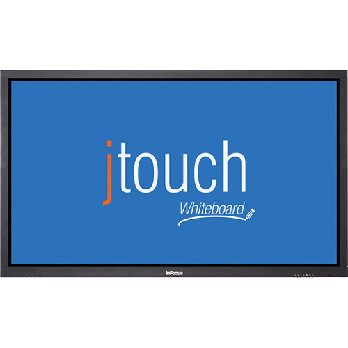 """InFocus JTouch 65"""" Whiteboard with Capacitive Touch & Anti-Glare"""