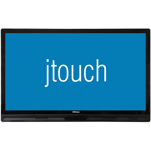 "InFocus JTouch 65"" Interactive Display with LightCast Technology and Anti-Glare Coating"