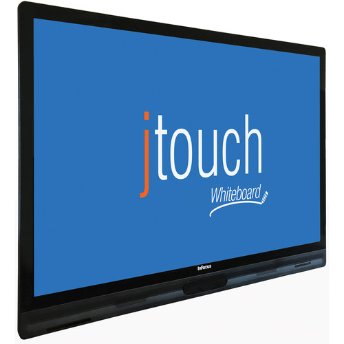 """InFocus JTouch Plus 65"""" Interactive LightCast Ready Touch Display with Anti-Glare (K-12)"""