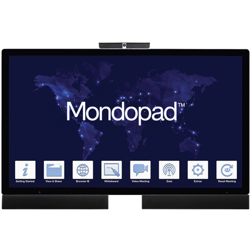 """InFocus 65"""" Mondopad Video Conferencing and Collaboration Touchscreen System"""