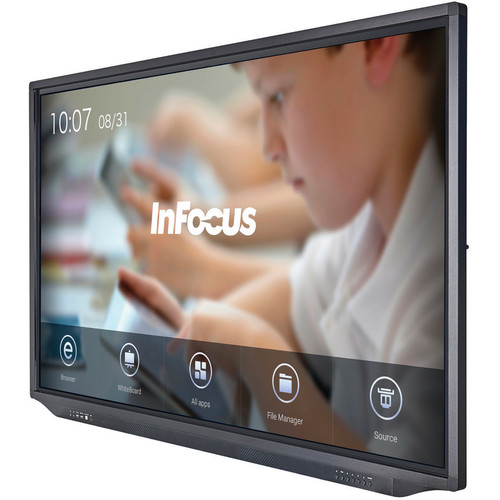 InFocus JTouch Plus 65-inch 4K Anti-Glare Display with Android (for K-12 Institutions Only)