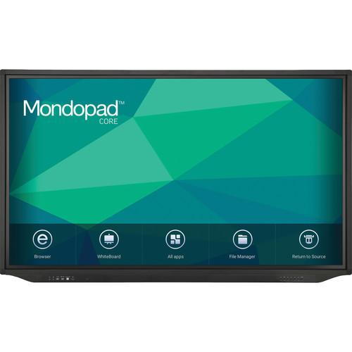 "InFocus Mondopad Core 65"" Class 4K UHD Touchscreen Display with Computer Module"