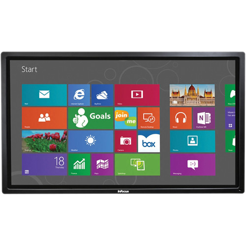 "InFocus BigTouch INF7011 70"" Full HD LED Multi-Touch Display and All-In-One PC"