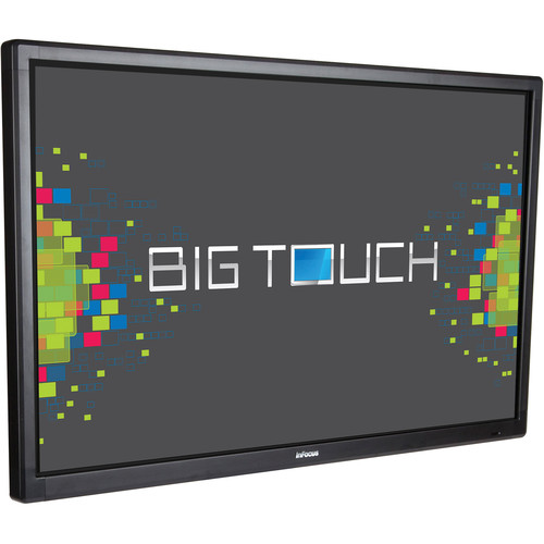 "InFocus 70"" Bigtouch 4K Display with Capacitive Touch, Integrated PC and Anti-Glare"