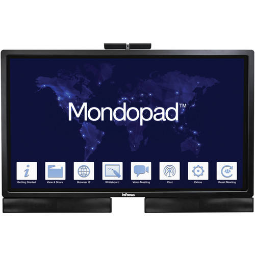 "InFocus Mondopad 70"" Monitor and Soundbar Bundle"