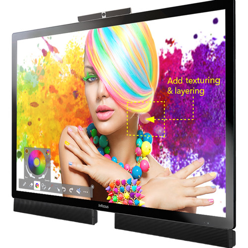 "InFocus 70"" Mondopad 4K Touch Display with Capacitive Touch and Integrated PC"