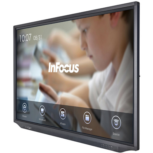 """InFocus 75"""" JTouch Plus 4K Display with Android and Anti-Glare Coating"""