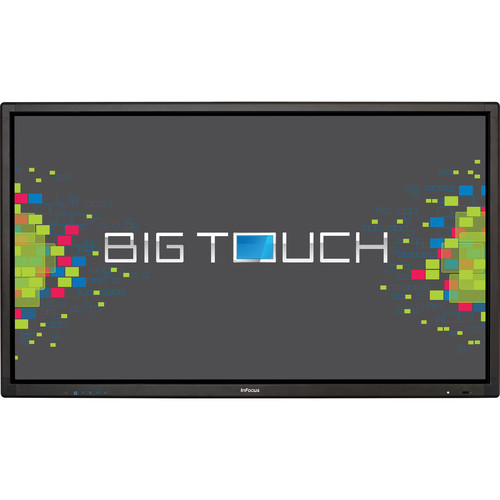 "InFocus BigTouch 85"" 4K LED-Backlit Touch Display with Integrated PC"