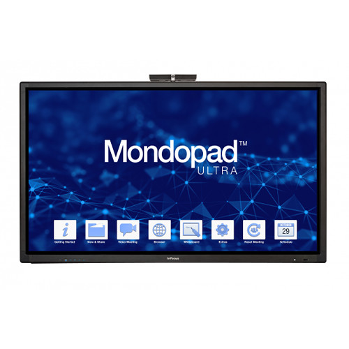 "InFocus Mondopad Ultra 85"" 4K All-In-One Touchscreen Collaboration System"