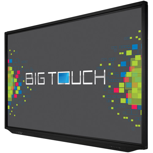 """InFocus 86"""" Bigtouch 4K Touch Display with Integrated I7 PC and Anti-Glare"""